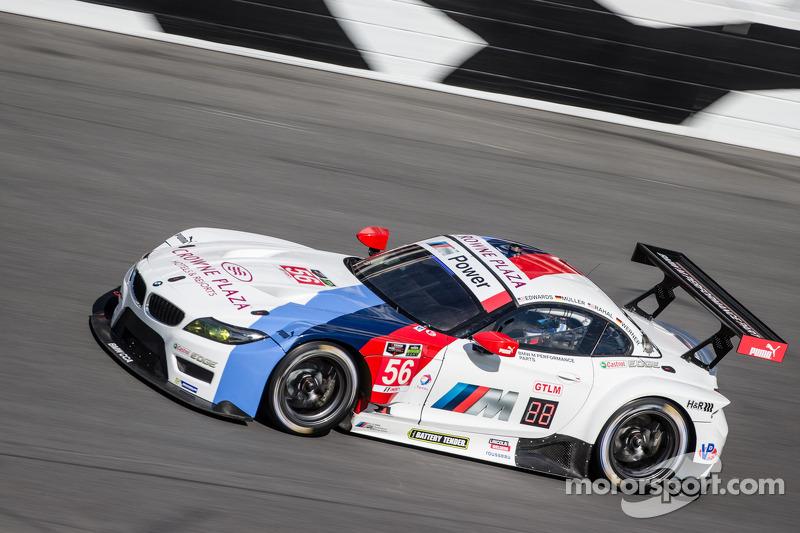 Rahal keeping eye on clock at Daytona, 24