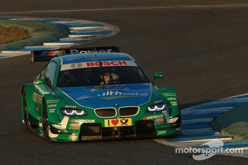 BMW DTM teams test in Portimão