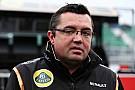 Boullier joins McLaren Team