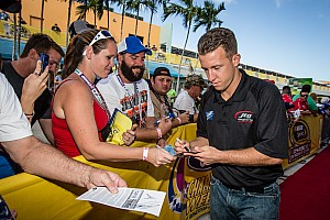 AJ Allmendinger talks about the difference between open wheel cars and stock cars