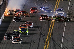 NASCAR Sprint Cup Race report A wild night at Daytona for the Duels