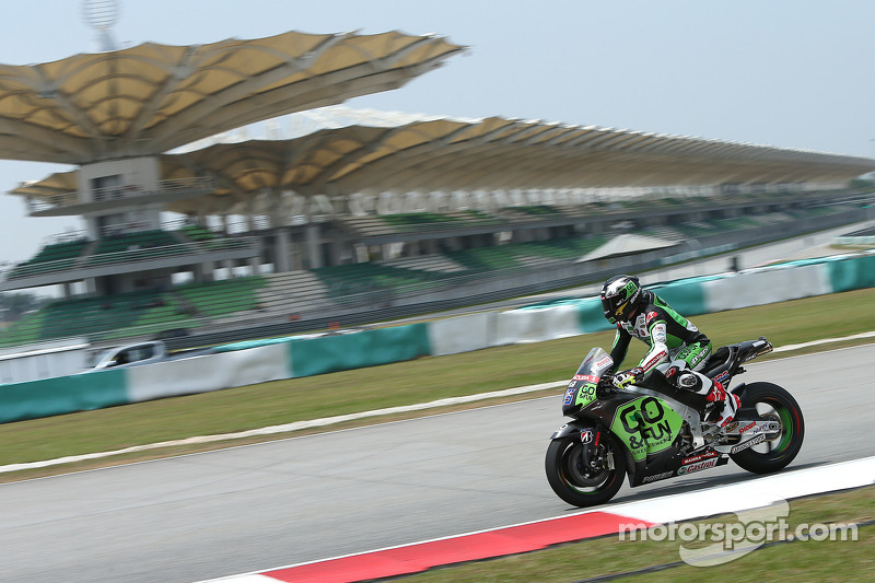 Second day at Sepang brings improvement for Scott