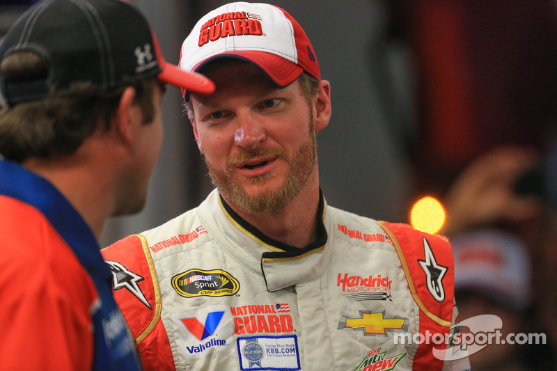 Dale Earnhardt Jr.'s substitute spotter at Phoenix is simply