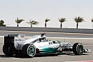 Mercedes' Rosberg is second on the time sheets on Day 3 in Sakir