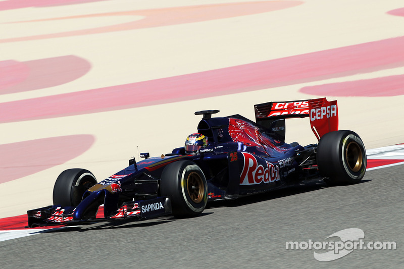 Toro Rosso completes a reasonable number of laps with the STR9 in Bahrain