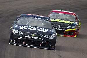 NASCAR Sprint Cup Race report Grip issues drop Truex Jr. to 22nd in Phoenix race