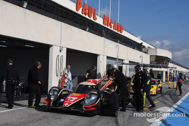 Large entry list for 'The Prologue' test at Paul Ricard