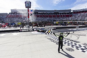 Kyle Busch claims another Bristol win