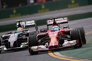 Both Sauber drivers finished Australian GP race
