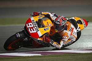 MotoGP Breaking news Normal service resumes as Marquez leaps to pole in Qatar