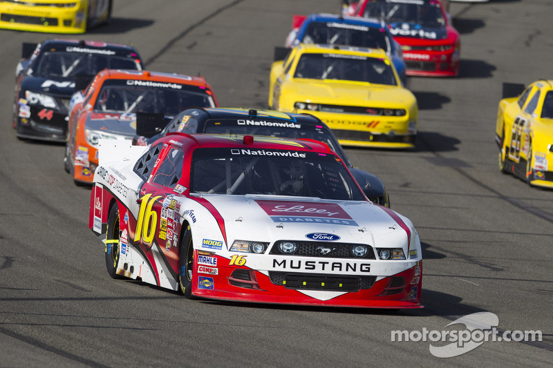 No. 16 team finishes 17th at Auto Club Speedway