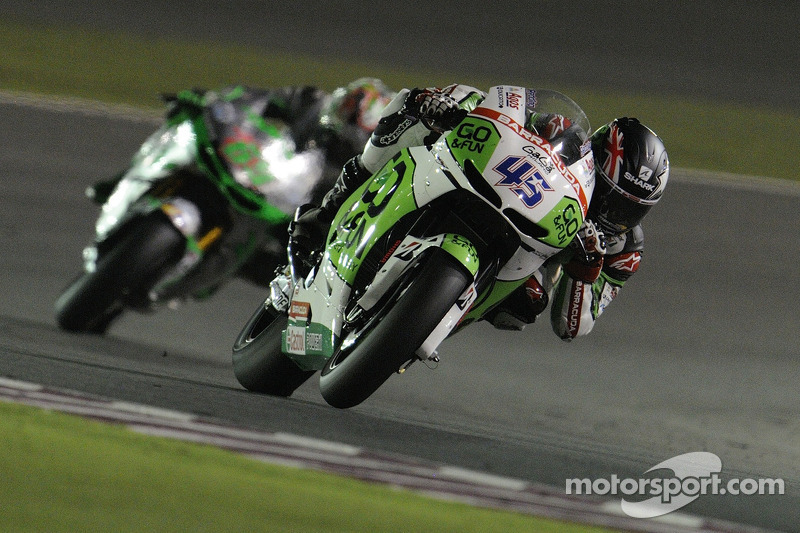 Scott makes impressive  debut in Qatar