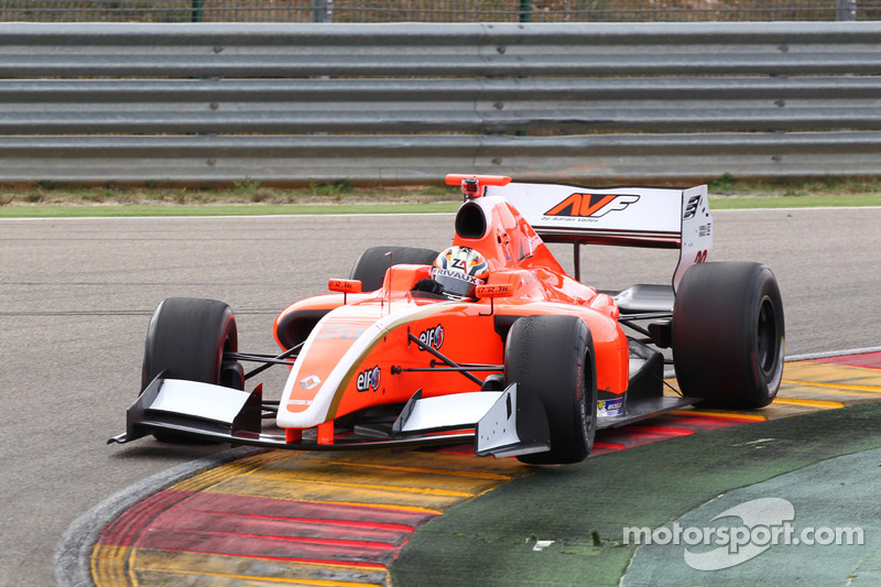 Amberg and Visser in the top ten on last day of F.Renault 3.5 pre-season testing