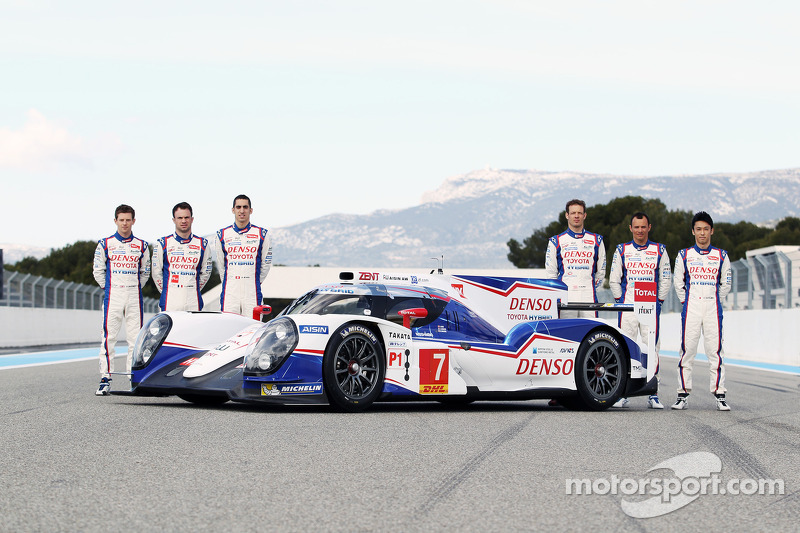Toyota drivers' impressions of the new TS040