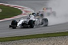 13th and 15th for Williams Martini Racing in Malaysian qualifying