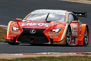 Super GT Qualifying report Lexus and Toyota claim pole positions at Okayama for first round