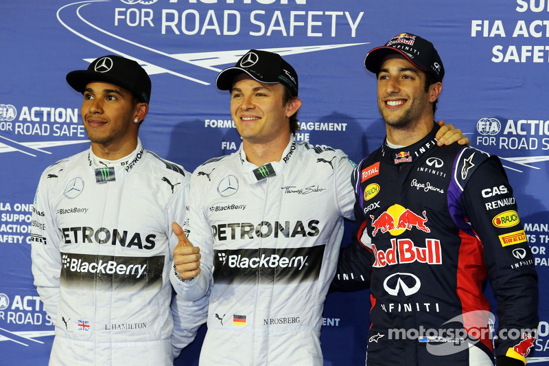2014 Bahrain Grand Prix - Qualifying press conference