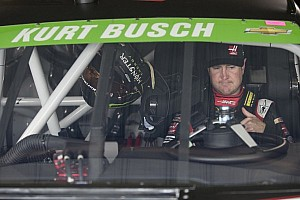 NASCAR Sprint Cup Special feature Roller coaster ride for Kurt Busch