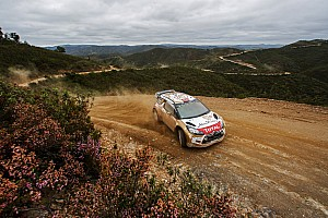 WRC Stage report Mads Østberg sets his sight on podium spot at Portugal