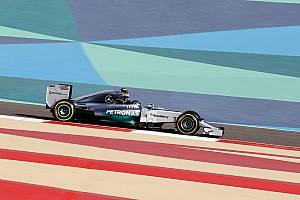 Formula 1 Breaking news Rosberg on top as first in-season test begins in Bahrain