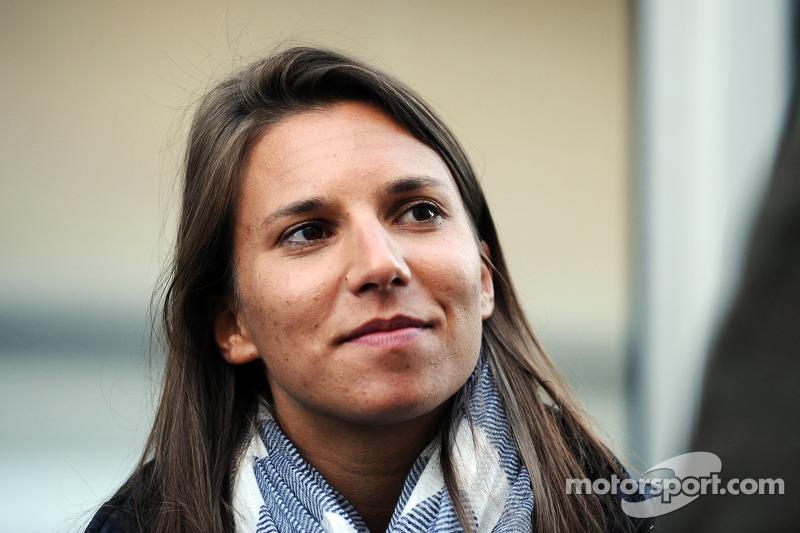Test in Fiorano - Simona De Silvestro debuts in a Sauber F1 car