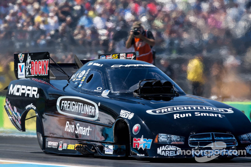 Matt Hagan qualifies #11 near Houston