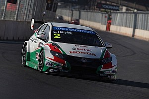 WTCC Testing report Honda cars set testing pace at Hungaroring