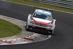 WTCC Qualifying report Yvan Muller the Invincible Hungaroring