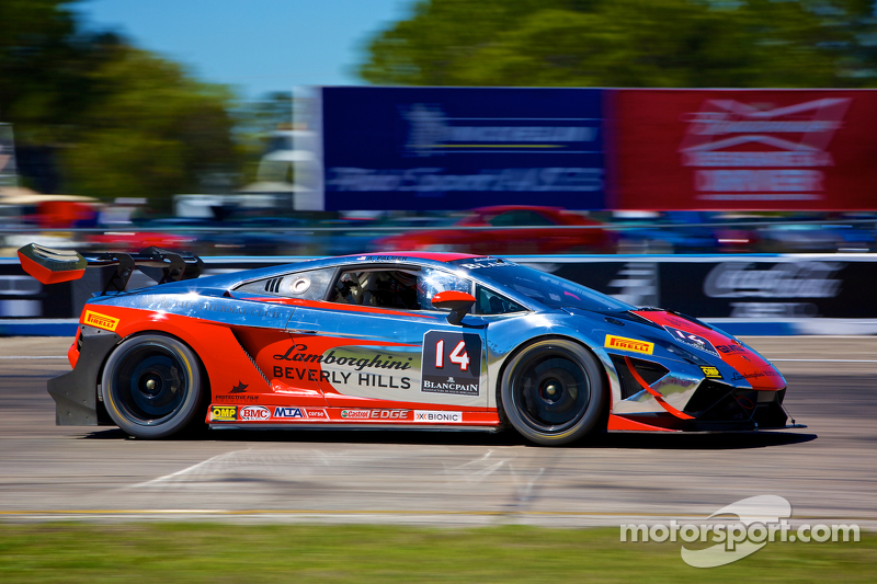 Palmer earns first victory of  Lamborghini Blancpain  Super Trofeo North America season