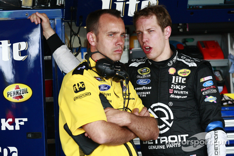 What was Brad Keselowski thinking?