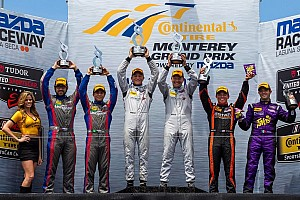 Second podium of the season for Ende in Lino'spresso USA/RSR Racing Oreca FLM09