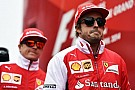 Alonso jokes Raikkonen struggle 'no surprise'