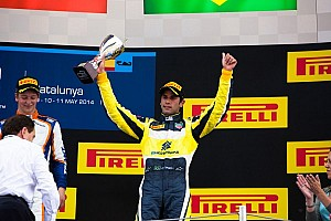 GP2 Race report Nasr sprints to first victory at Spain