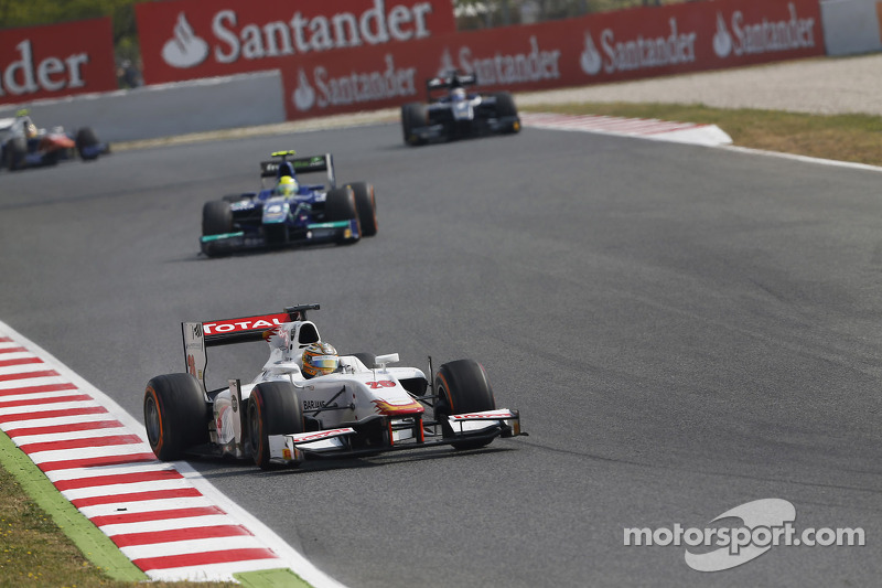 Pic maintains momentum with double GP2 points finish in Barcelona
