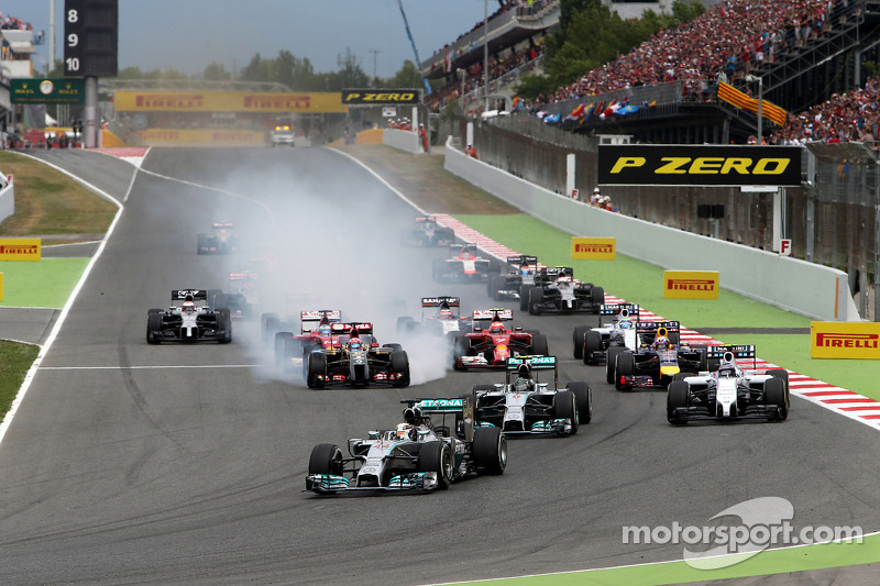 Barcelona begins talks for F1 deal through 2026