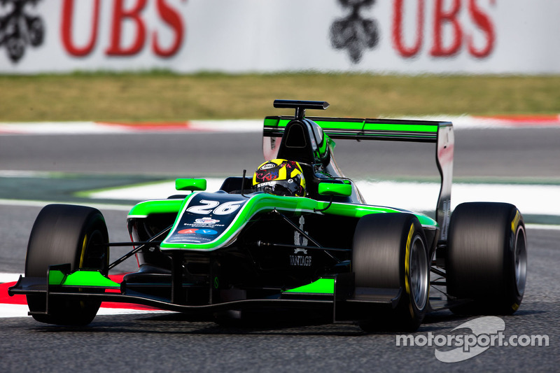 Yelloly logs seventh and ninth at GP3 opener