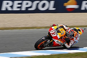 MotoGP Practice report Marquez sets the bar high on first day of practice at iconic Le Mans