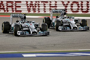Driver 'crash' discussed at Mercedes party