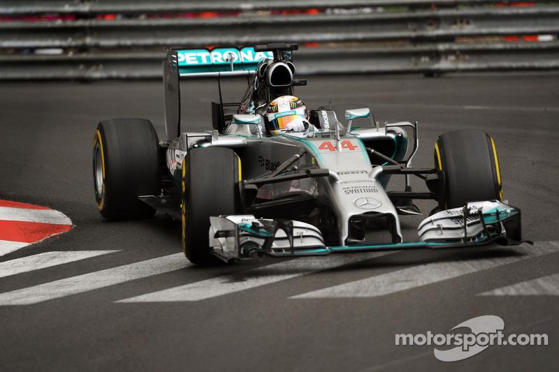 Hamilton quickest as Monaco GP weekend gets underway