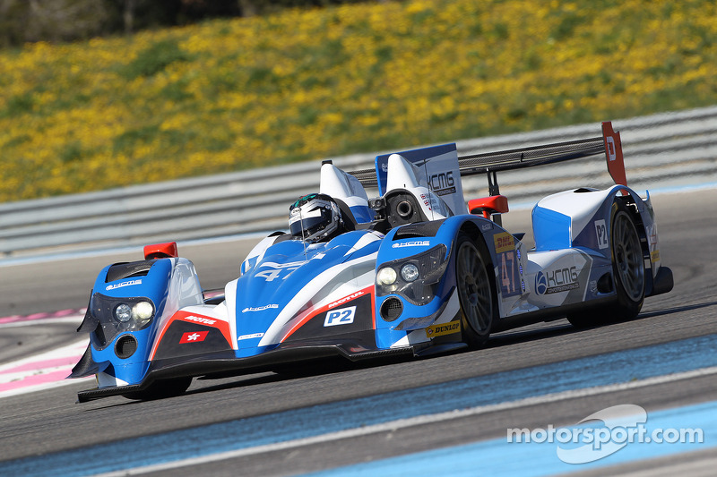 Test Day signals the start of KCMG's Le Mans return