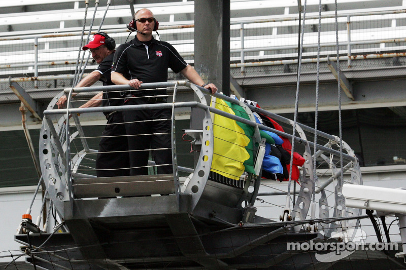 The 34th best seat at the Indianapolis 500