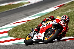 MotoGP Race report Marquez seals victory following stunning battle at Mugello