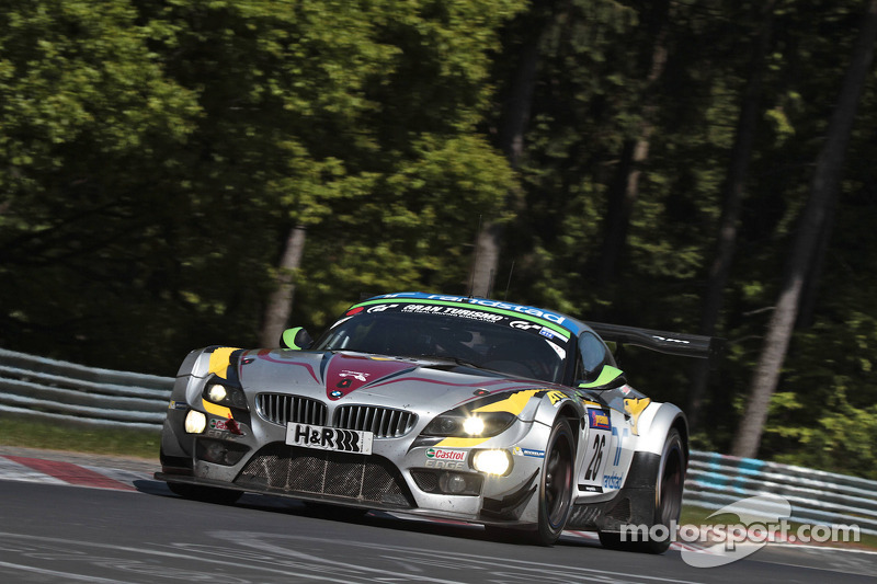 More BMW Z4 GT3s in action in the Ardennes