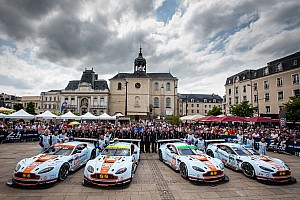 Aston Martin Racing joins Hanergy in solar-powered project