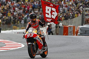 MotoGP Race report Marquez clinches scintillating seventh win of the year in Catalunya