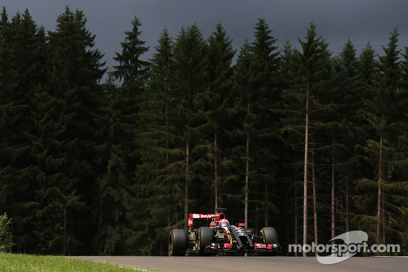 Lotus' fastest times don't look great on Friday practice for the Austrian GP
