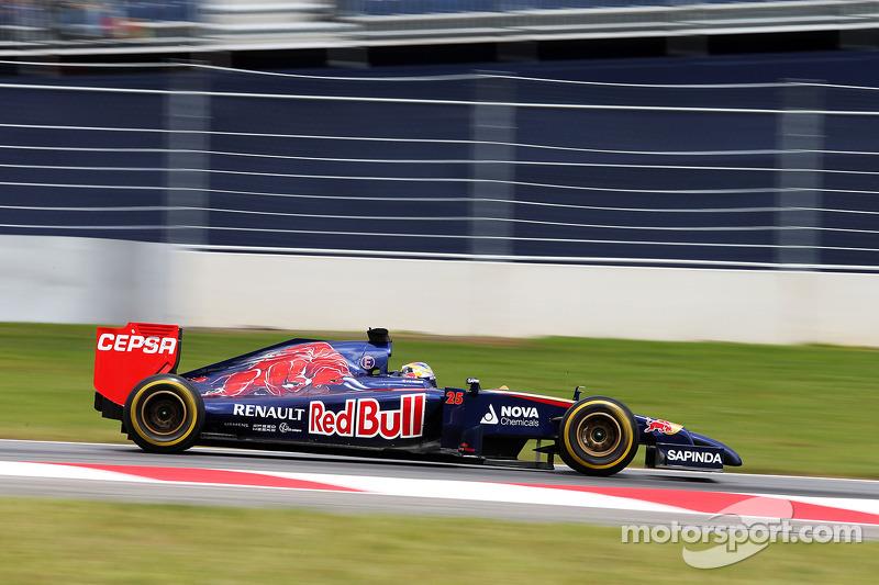 Toro Rosso: A positive Friday in Austria