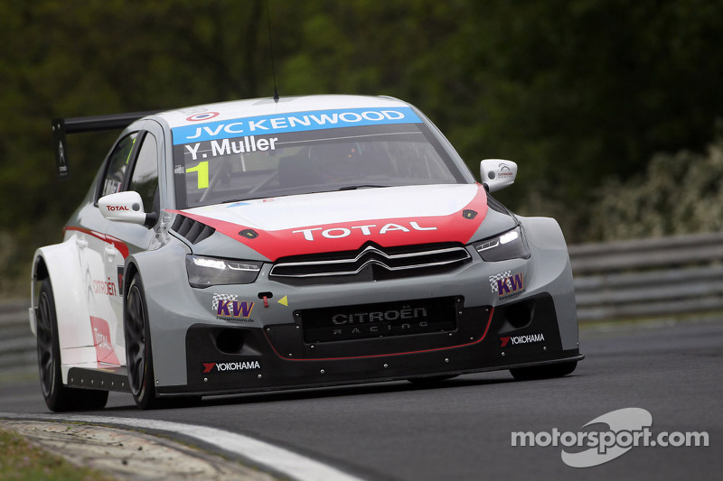 Citroën goes 1-2-3 in qualifying at Spa-Francorchamps