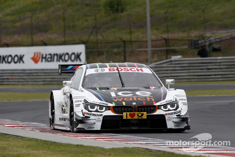 On the streets of Nürnberg: The BMW M4 DTM makes its street circuit debut
