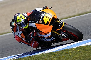 MotoGP Practice report Espargaro goes top on first day at Assen and laps under track record